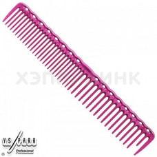 Расчёска Y.S. Park для стрижки QC 338 (розовая)