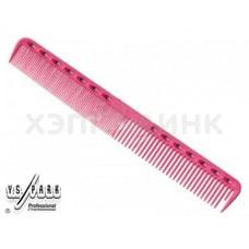 Расчёска Y.S. Park для стрижки Fine Cutting 339 (розовая)