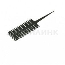 Расческа для мелирования Harizma Hair Picker черная